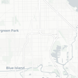 Chicago Residential Parking Zones on